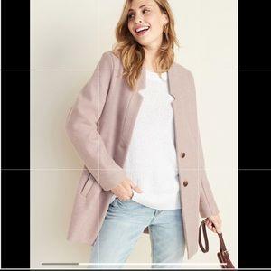 Soft -Brushed Coat